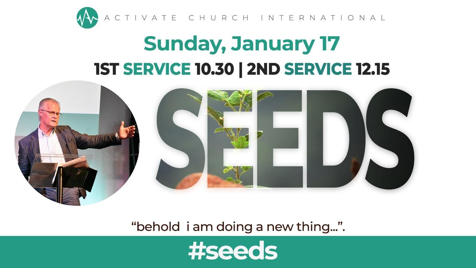 1st service: 10.30 | 2nd service: 12.15
